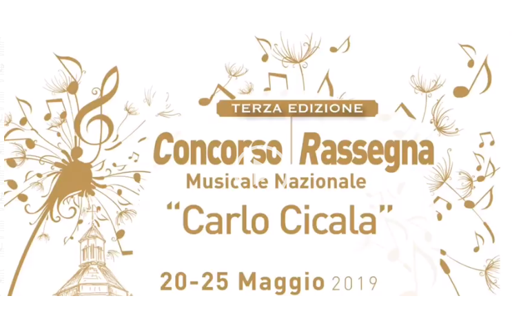 """CONCORSO MUSICALE NAZIONALE """"CARLO CICALA"""""""