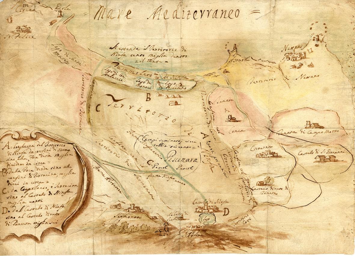 I Caetani nel territorio Pontino e Lepino