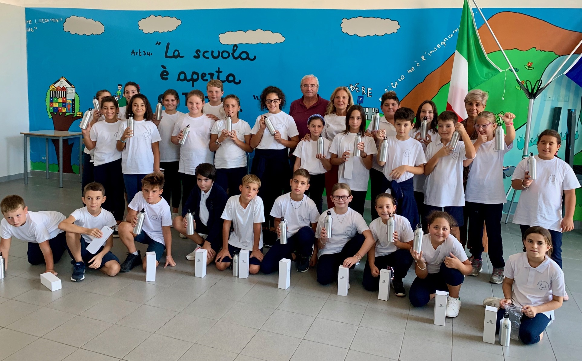 L'OMAGGIO PLASTIC FREE DELLA FONDAZIONE CAETANI