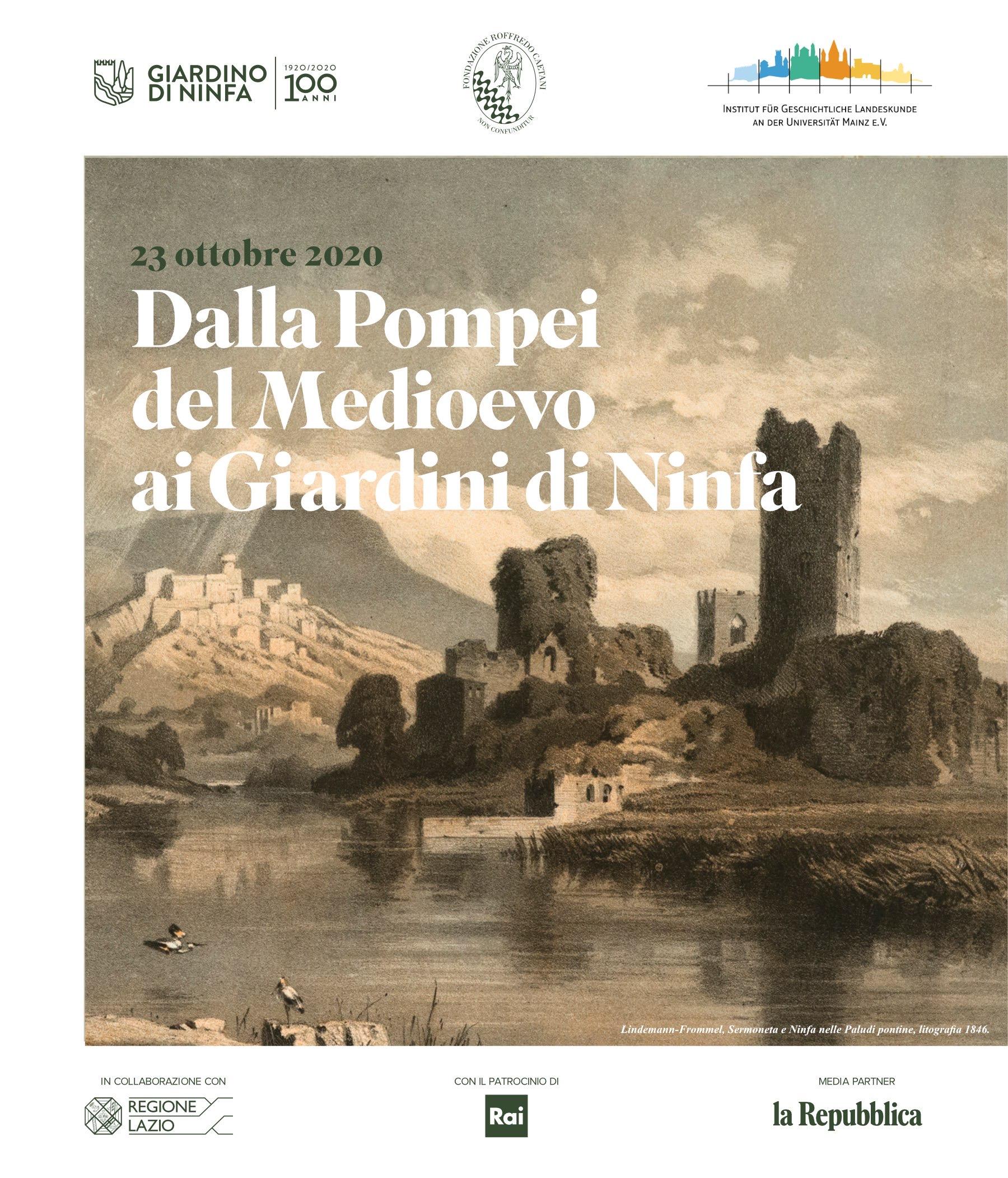 Dalla Pompei del medioevo ai Giardini di Ninfa – video