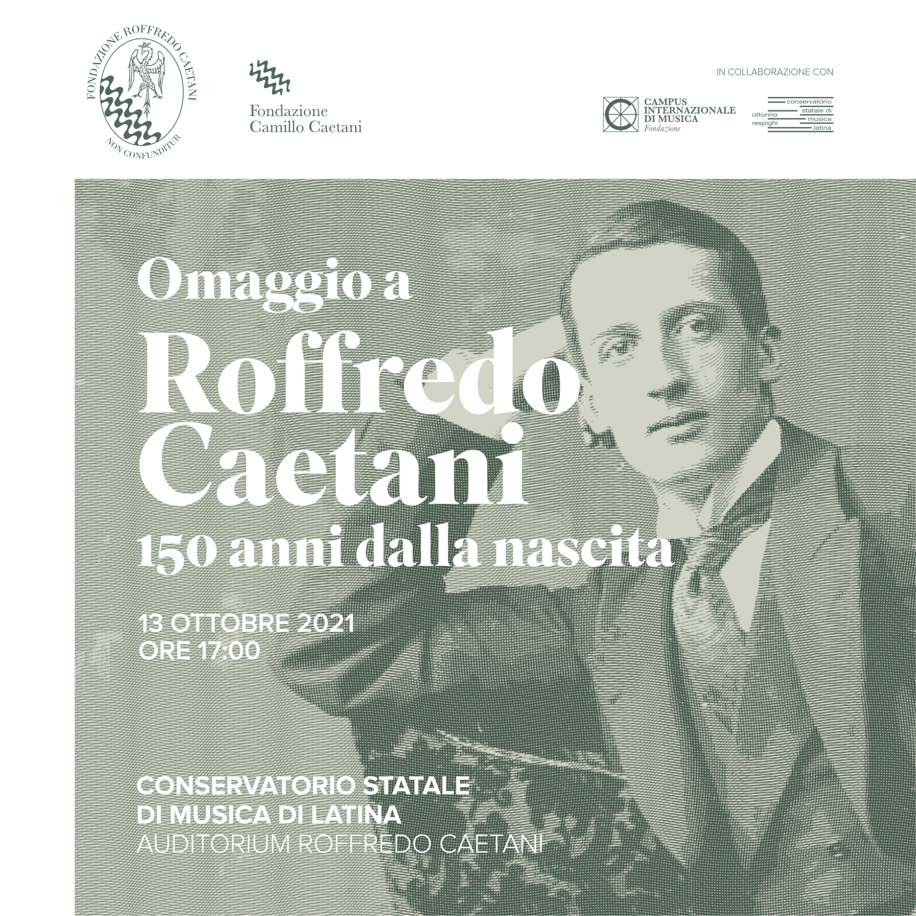 Roffredo Caetani, omaggio a 150 anni dalla nascita